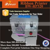 BW-RP320 mini gift/flower Shop packing Ribbon Tape hot Foil small Printing machine