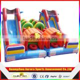 Children's Playground Castle Balloon Slide and Bouncer,Play Center Home Use Inflatables