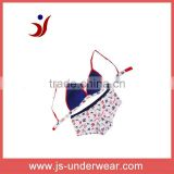 good selling model cotton teenagers bra set