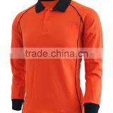 New Trends Fashion Long Sleeve Polo T-shirt