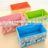 eco-friendly folding stocked square blue modern 1 beautiful little storage box for cometic jewelry making up