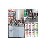 Soft Drink Aluminum Can Filler Machine , Commercial Can Sealing Equipment