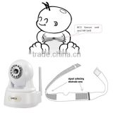 Heart Rate Temperature IP Camera Wireless Baby Monitor