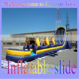 66*26*22feet Giant inflatable wet slide for amusement park