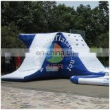 2016 popular inflatable water pool with jumping platform