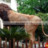 Amusement Park Simulation Animals Lion for decorations