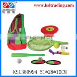 6 in 1 sport toy for childre kids plastic toy sport combination