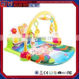 Fashionable early education soft blanket baby toys with music light