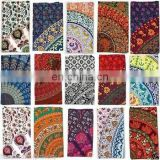 Wholesale lot of 20 pcs Single size mandala Tapestry, bedsheet wall hanging lot
