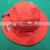 polyester bucket hat with mesh