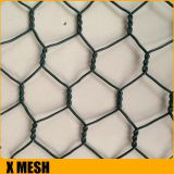 High tensile 80x60mm opening hexagonal gabion basket for retaining wall