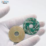 Ultra Thin Disc Slip Ring PCB Substrate Mini Conductive Slip Rings for Robotic Arm
