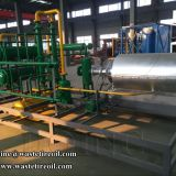 High oil yield tyre to fuel recycling plant with Continuous Type