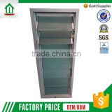 Top Seller Direct Factory Price Huiwanjia Customize Aluminium Glass Windows With Louvers
