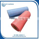 Wavy Line Printed Viscose and Polyester(PET) Nonwoven Fabric Roll                                                                                                         Supplier's Choice