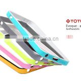 Promotion colored back cell phone case for apple iphone 5
