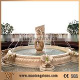 natural stone water fountain for garden decoration