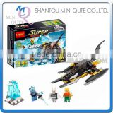 Mini Qute DECOOL Marvel Avenger super hero Batman chariot battle building block action figure educational toy NO.7102