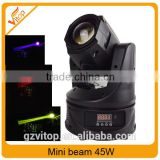 Wholesale night club lighting 45w led moving head beam ,45w led beam light                                                                                                         Supplier's Choice