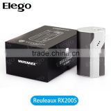 Wismec RX200S Reuleaux 200w mod box good price e cigarette wholesale electronic cigarette elego