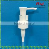20mm,24mm,28mm plastic white lotion pump for cleansing oil,Plastc oil pump