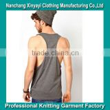 Tank Top China Wholesale / Gym Singlets 100% Cotton / Racer Back Tank Tops Wholesale