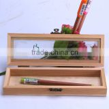 Fancy wood pencil cases pencil cases pencil cases