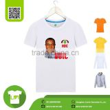 Ghana election white t shirts print custom design of characters Promotional bulk blank t shirts made in china