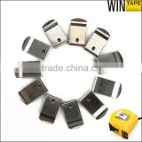 Stainless steel flat spring clip customized belt clip for tape measure