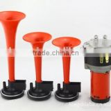 3x Trumpet Musical Electronic Red Air Horn Compose Car Truck Boat motorcycle horn 12V HT-203