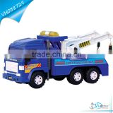 37cm Friction Police Wrecker Plastic Tow Truck Toy