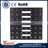 chinese led lighting stage equipment 49*3w led warm white led lights floor