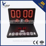 Digital LED display table tennis board/led numbers display boards/outdoor led display board