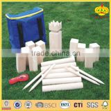 wooden Kubb Set outdoor park games outdoor amusement games