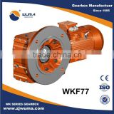 High efficiency helical bevel gearbox from china High efficiency speed reducer for packaging machinery