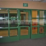 Jinyao 8-15mm safety 2 hour 3 hour Frameless Fire Rated Glass Door