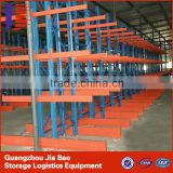 Adjustable Heavy Duty cantilever pallet racking with Powder Coating