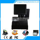 CCD Barcode Scanner Or Laser Barcode Scanner Fashionable Design Cash Register