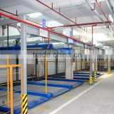 china horizontal vertical auto parking lift and slide parking construction government parking