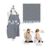 hot wholesale boutique cotton baby nursing cover