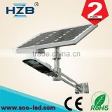 30W Integrated Solar Power Led Street Lighting Factory Direct With High Efficient Solar Panel