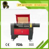China supplier paper leather ABS plate cutter laser engraving cutting machine/nike shoes men QL-6090/ nike shoes men