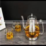 The electromagnetic oven special glass kettle health pot electric ceramic tea set heat furnace