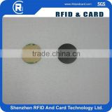 NTAG213 NTAG 203 dis pvc card an-ti metal with 3M adhesive rfid coin tag sticke on the metal