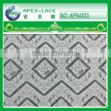 APN4503-popular european style,high quality and cheap sofa lace for hotel seat in guangzhou apex 2014