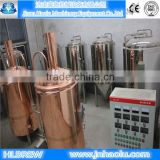 Hot sales Red copper brewery & Draft beer brewery equipment / Stainless steel 304 Fermentation tanks