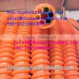 PE HDPE COD cable protection pipe making extrusion machine