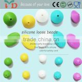 BPA Free Non Toxic Food Grade Silicone Beads Wholesale
