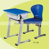 Student Double School Desk And Bench Chair Furniture CY-107