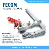 Our Factory mainly produce F Clamp Ratchet Hose Clamps